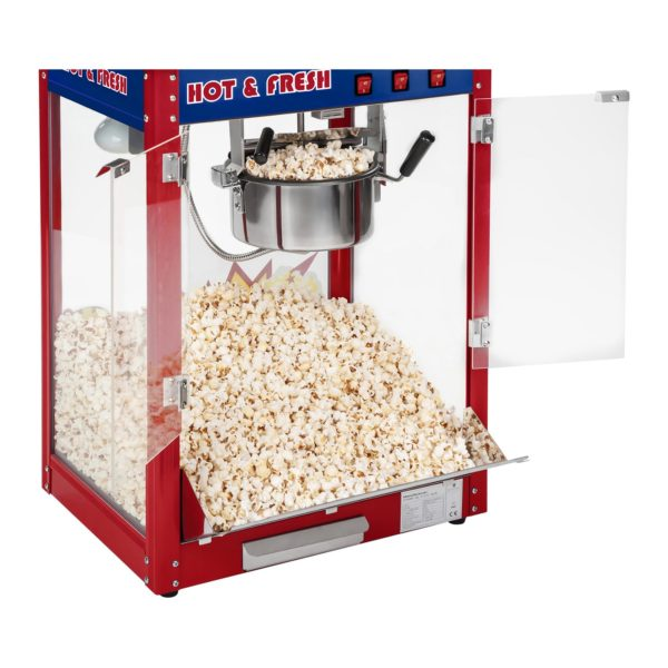 Stroj na popcorn - vč. vozíku - USA design RCPW-16.1 - 9
