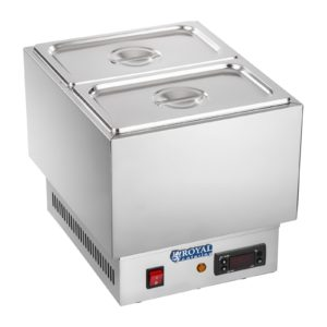 Stroj na rozpouštění čokolády- 2 x 14 GN RCCM-250-2GN - 1
