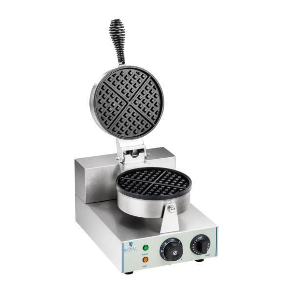Vaflovač - 1 x 1.300 wattů - kulatý RCWM-1300-R - 1 (vaflovač)