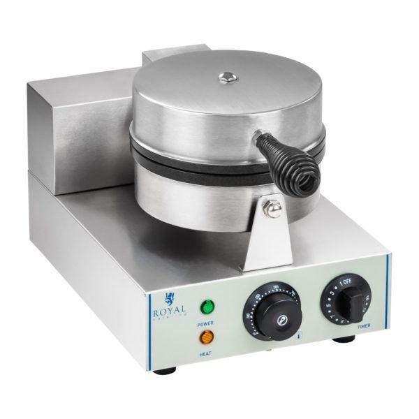 Vaflovač - 1 x 1.300 wattů - kulatý RCWM-1300-R - 2