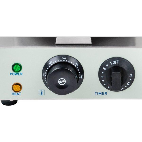 Vaflovač - 1 x 1.300 wattů - kulatý RCWM-1300-R - 3