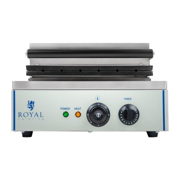 Vaflovač - 1 x 1.500 wattů- oválný - Corn Dog RCWM-1500-S - 4