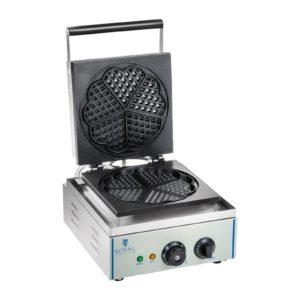 Vaflovač - 1 x 1.500 wattů - tvar srdce RCWM-1500-H - 1 (vaflovač)