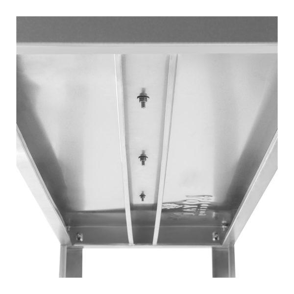 Závěsný regál -120 cm - 60 kg RCHC-12038 - 4