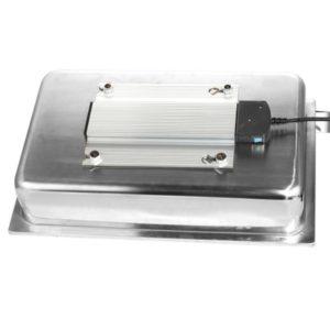 Ohřívací jednotka pod Chafingy 400 W / 230 V | HENDI 809709. Pro chafingy GN 1/1. Materiál: nerezová ocel. Výkon 0,4 kW.