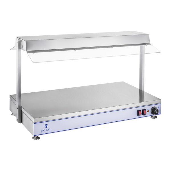 Ohřívací deska s halogenovými lampami-1550 W-ušlechtilá ocel RCHP-100H - 3