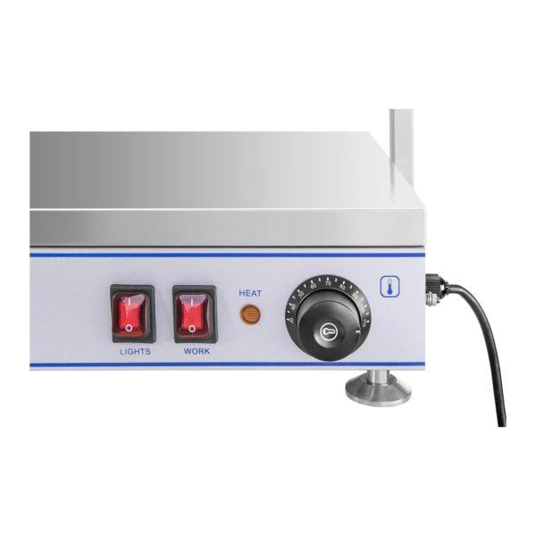 Ohřívací deska s halogenovými lampami-1550 W-ušlechtilá ocel RCHP-100H - 6
