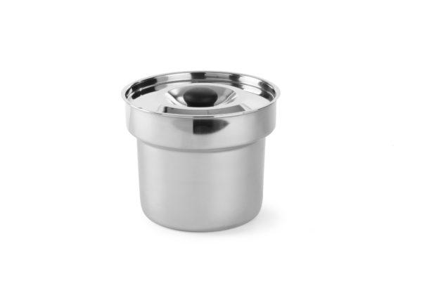 Adaptér pro nádoby pro chafingy | HENDI, 47093. Pro dvě nádoby na polévku. Rozměr: gn 1/1 (530x325 mm). Vyrobený z chromované oceli.