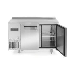 2-dveřový chladící stůl s bočním agregátem 1200x600x850 mm HENDI, Kitchen Line - 1
