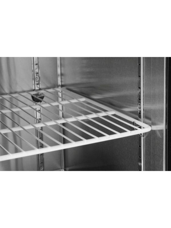 2-dveřový mrazící stůl s bočním agregátem 1200x600x850 mm HENDI, Kitchen Line - 2
