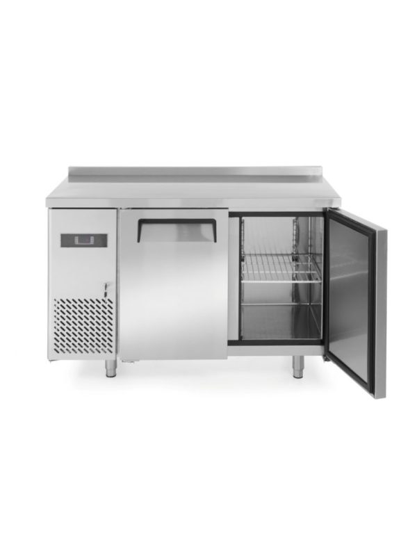2-dveřový mrazící stůl s bočním agregátem 1200x600x850 mm HENDI, Kitchen Line