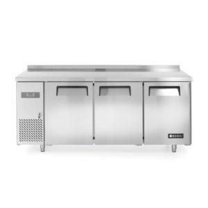 3-dveřový chladící stůl s bočním agregátem 1800x600x850 mm HENDI, Kitchen Line - 1