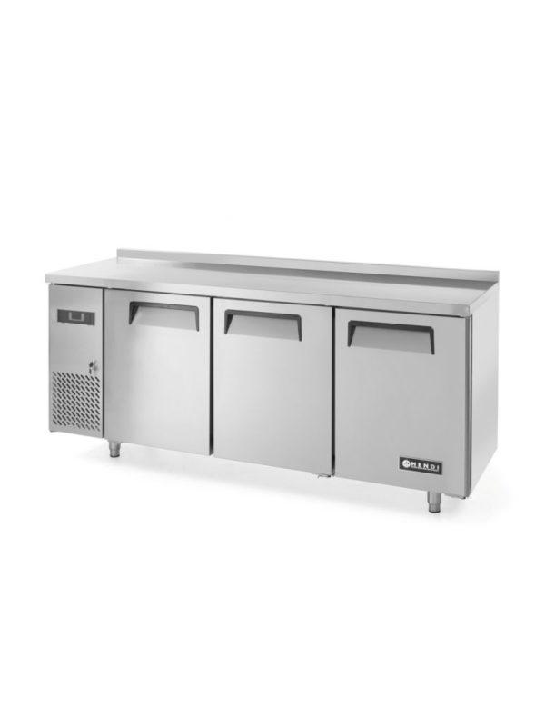 3-dveřový chladící stůl s bočním agregátem 1800x600x850 mm HENDI, Kitchen Line - 2