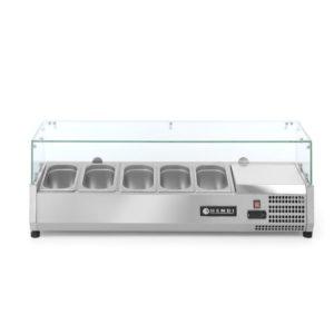 Chladící pultová vitrína 5xGN14 HENDI, 232903 - 2
