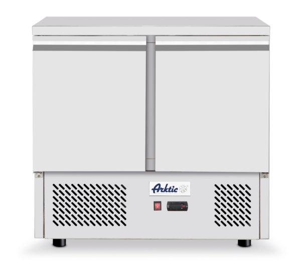Chladící stůl 2 dveřový s pracovní plochou, 900x700x880 mm Arktic, 232019