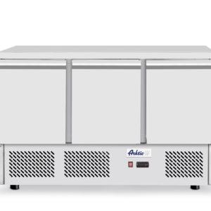 Chladící stůl 3 dveřový s pracovní plochou, 1365x700x880 mm Arktic, 232026