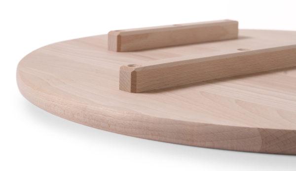 Dřevěný talíř pod pizzu o průměru 450 mm HENDI, 505571 - 3