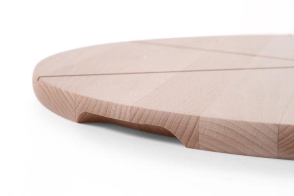 Dřevěný talíř pod pizzu o průměru 500 mm HENDI, 505588 -2