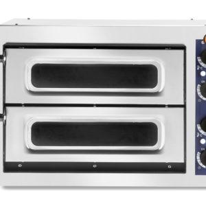 Pec na pizzu dvoukomorová, 2 x pizza 320 mm, 568x500x430 mm HENDI, Basic 240 Verto