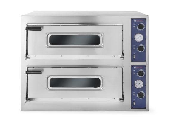 Pizza pec dvoukomorová Basic, 12 x pizza 32 cm, 975x1220x745 mm HENDI, Kitchen Line