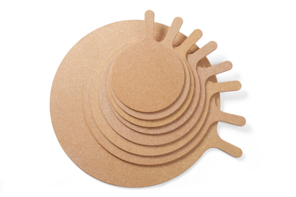 Prkénko na pizzu s rukojetí , o průměru 330 mm HENDI, 506332tí , o průměru 330 mm HENDI, 506332