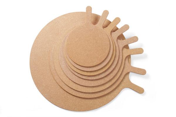 Prkénko na pizzu s rukojetí , o průměru 355 mm HENDI, 506349 - 2