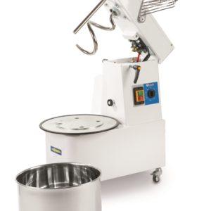 Spirálový hnětač se zvedací hlavou a odnímatelnou nádobou 32 l, 1,1 kW HENDI, 226353