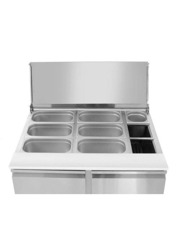 Chladící stůl s posuvným víkem 900x698x888 mm HENDI, 232804 - 3