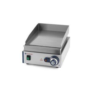 Grilovací deska hladká 450x300x225 mm 2kW HENDI, Blue Line - 1