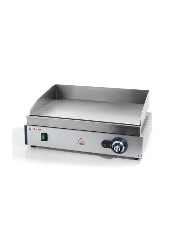 Grilovací deska hladká 550x380x240 mm, 2,4 kW HENDI, 203149 - 1