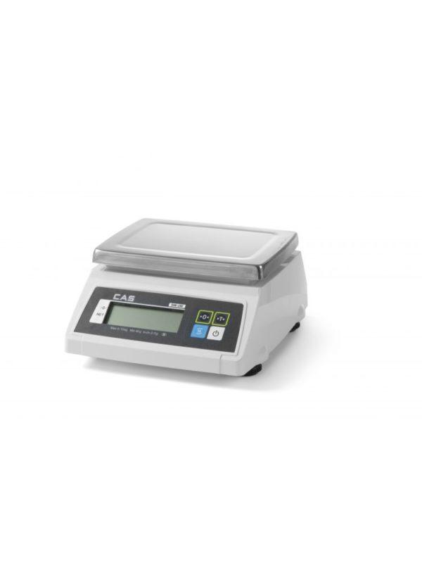 Kuchyňská váha voděodolná s ověřením, 10g-2 kg HENDI, 580363 - 1 Voděodolná Rozsah: 2 kg Přesnost 0,5/1 g Délka: 278 mm Šířka: 317 mm Výška: 141 mm Váha: 3.7 kg
