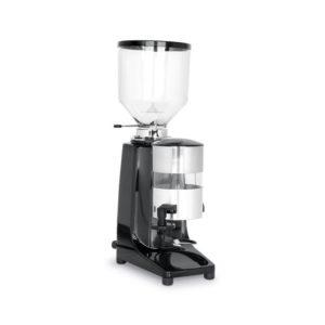 Mlýnek na kávu, 0,42 kW | HENDI, 208878 - 1 Profesionální mlynek na mletí kávy Pouzdro z lakovaného hliníku Nádoba na mletou kávu: 250 g Regulace porce: 4-9 g Mlecí kameny z nerezové oceli: ø 63 mm Počet otáček kamenů: 1400 ot./min. Kapacita 3 kg (500 kávových šálků) denně.