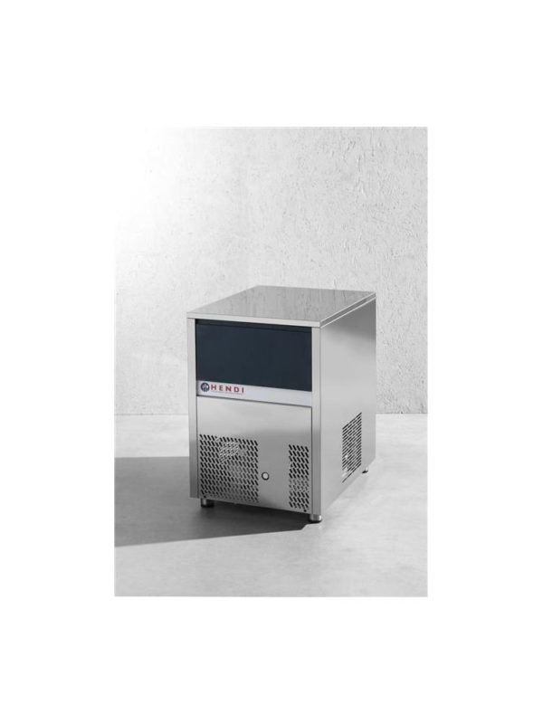 Výrobník ledové tříště 120kg24h chlazený vodou HENDI, 271827 - 1