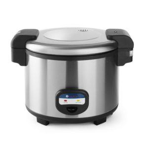Rýžovar 5,4 L | HENDI, 240403-1 Kapacita 30 porcí (odměrka 180 ml) syrové rýže. Přístroj je používán i vaření a udržovat v teple.