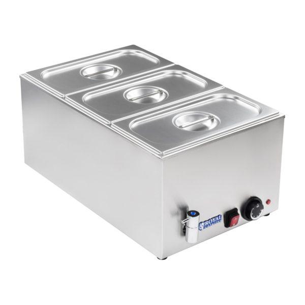 Vodní lázeň - gastronádoba - 13 - výpustný kohout -1