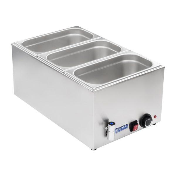 Vodní lázeň - gastronádoba - 13 - výpustný kohout - 2