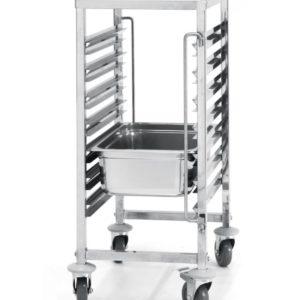 Vozík na gastronádoby 7x polic 380x550x870 mm HENDI, 810668 - 1