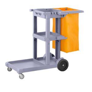 Úklidový vozík s pytlem na prádlo - 1