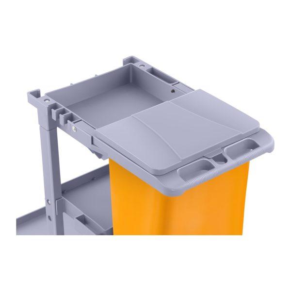 Úklidový vozík s pytlem na prádlo a krytem - 2