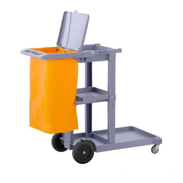 Úklidový vozík s pytlem na prádlo a krytem - 5