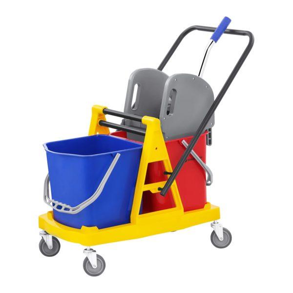Úklidový vozík se ždímáním - 2 vědra - 40 L -1