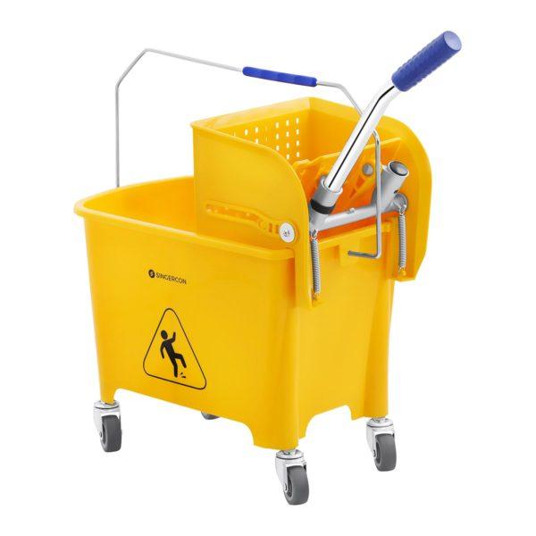 Úklidový vozík sÚklidový vozík se ždímáním - 20 L - 2e ždímáním - 20 L - 2