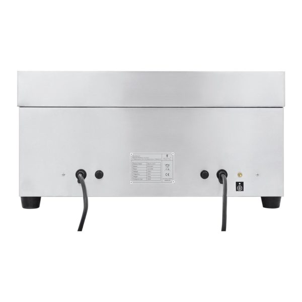 Dvojitá elektrická grilovací deska - 60 cm - 2 × 3 200 W - 3