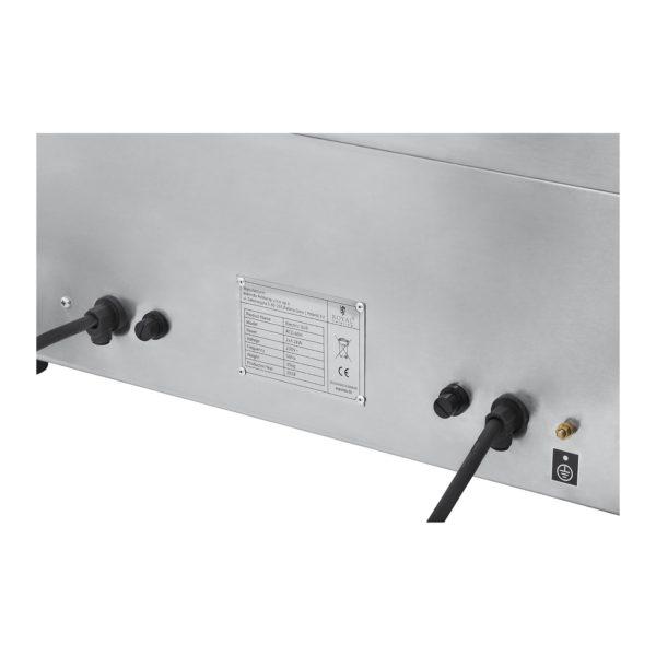 Dvojitá elektrická grilovací deska - 60 cm - 2 × 3 200 W - 5