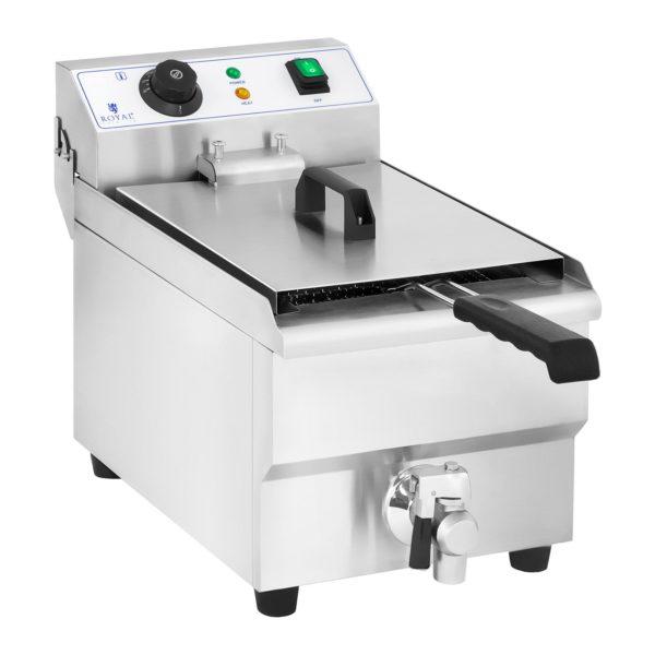 Elektrická fritéza - 10 litrů s vypouštěcím kohoutem - 1