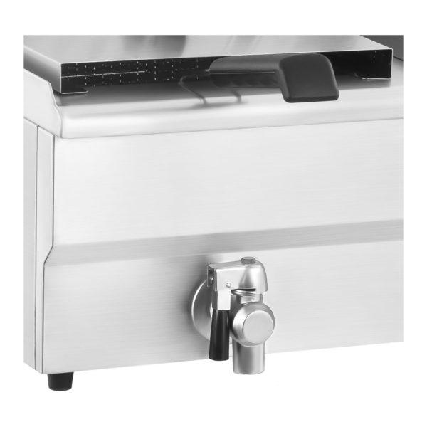 Elektrická fritéza - 10 litrů s vypouštěcím kohoutem - 2