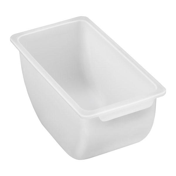 Nástavba s nádobami na kuchyňské přísady - ušlechtilá oceľ PP - 5 x 450 ml • materiál: Ušlechtilá ocel/PP • objem jedné nádoby: 450 ml • 5 nádob • kryt z polypropylénu • rozměry: 38 x 15 x 8,8 cm