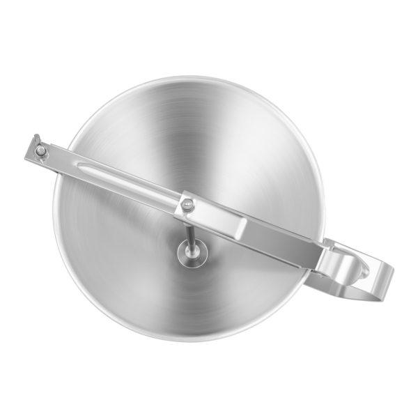 Plnicí trychtýř - 2 litrový - se 3 dávkovači RCOF-2 • kapacita: 2 litrů • 3 dávkovače (Ø4 mm, Ø5 mm, Ø6 mm) • ušlechtilá ocel • uzavíratelná výtoková hubice • včetně odkládacího stojanu