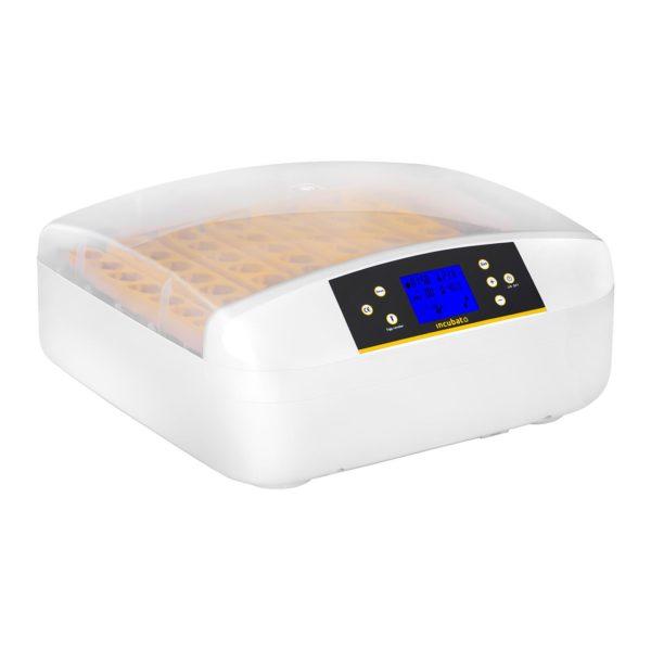 Umělá líheň - 56 vajec - včetně dávkovače vody - plně automatická, teplotní rozsah 20-50 ℃ nastavitelné s přesností na stupně, integrovaný prosvěcovač vajec