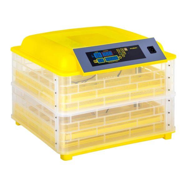 Umělá líheň - 96 vajec – včetně prosvěcovačky vajec – plně automatická, teplotním rozsahem 20–50 ℃, regulátor teploty, integrovaná prosvěcovač vajec.